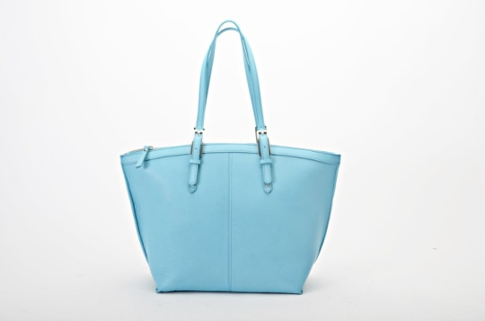 MADE IN ITALY GENUINE LEATHER SHOPPER BAG