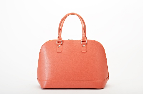 MADE IN ITALY – Classic Style Orange Bag