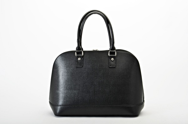 MADE IN ITALY – Classic Style Black Bag