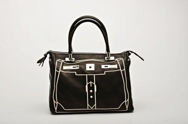 MADE IN ITALY – Fashion Design Black Bag