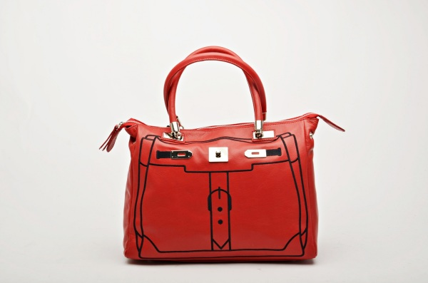 MADE IN ITALY – Fashion Design Red Bag