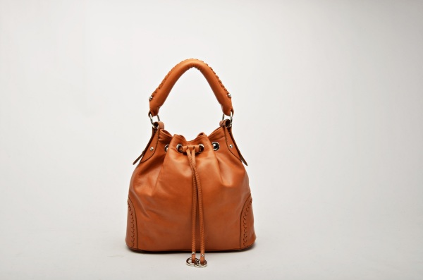 MADE IN ITALY – Bucket Bag Leather