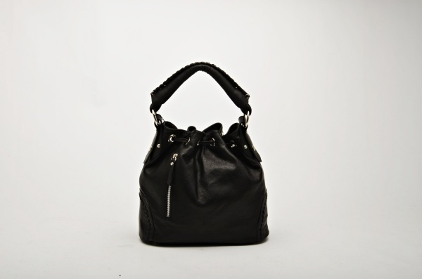MADE IN ITALY – Bucket Bag Black