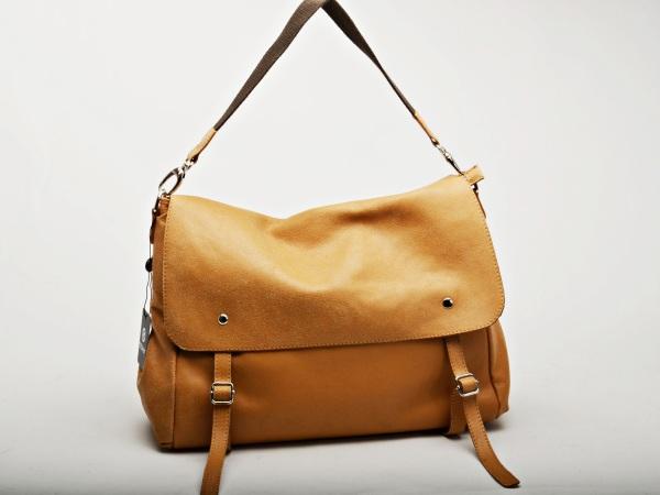 Made In Italy Leather Folder Shoulder